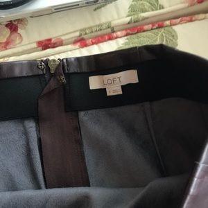 LOFT Skirts - Loft leather skirt